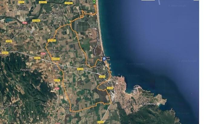 Sortida amb bicicleta: Viladamat - Sant Martí d`Empúries