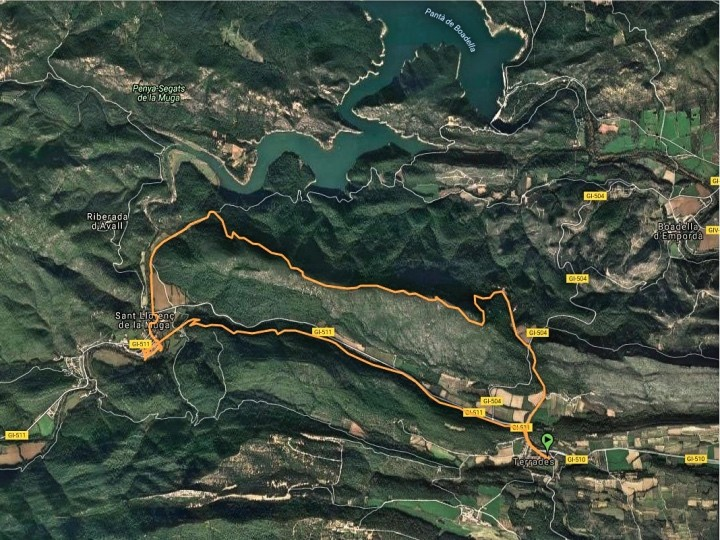 Senderismo: Boadella - Sant Llorenç de la Muga
