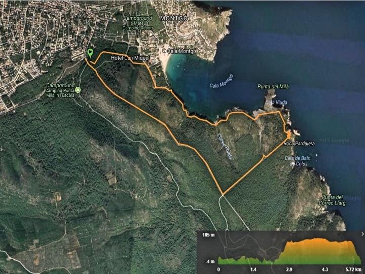 Trekking: Montgri – Punta Ventosa