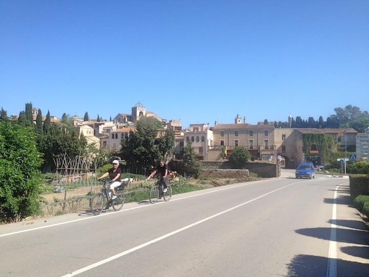 Sortida amb bicicleta: Peralada