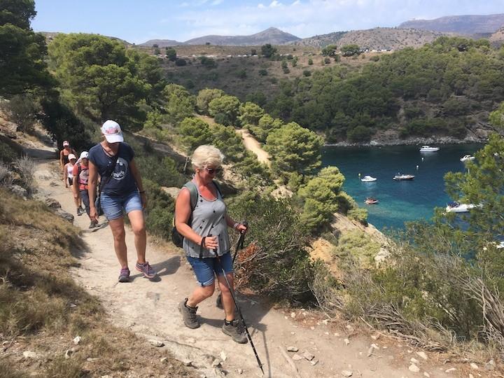 Wanderung: Camì de Ronda – Cala Montjoi
