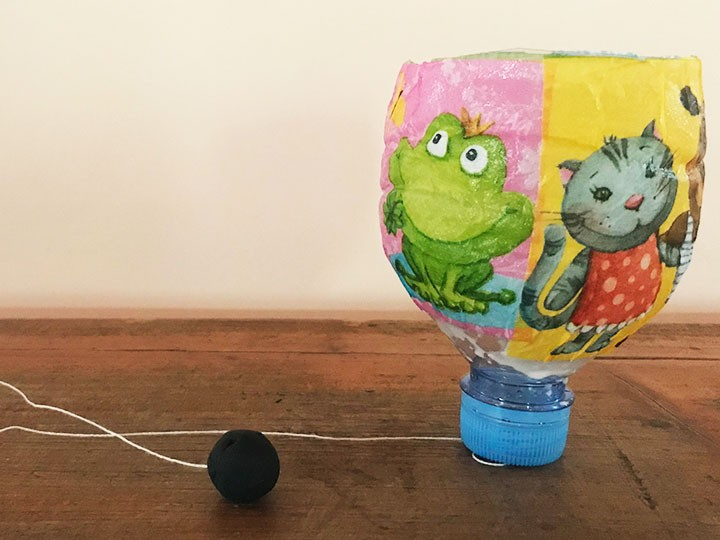 Taller reciclatge: atrapa la pilota