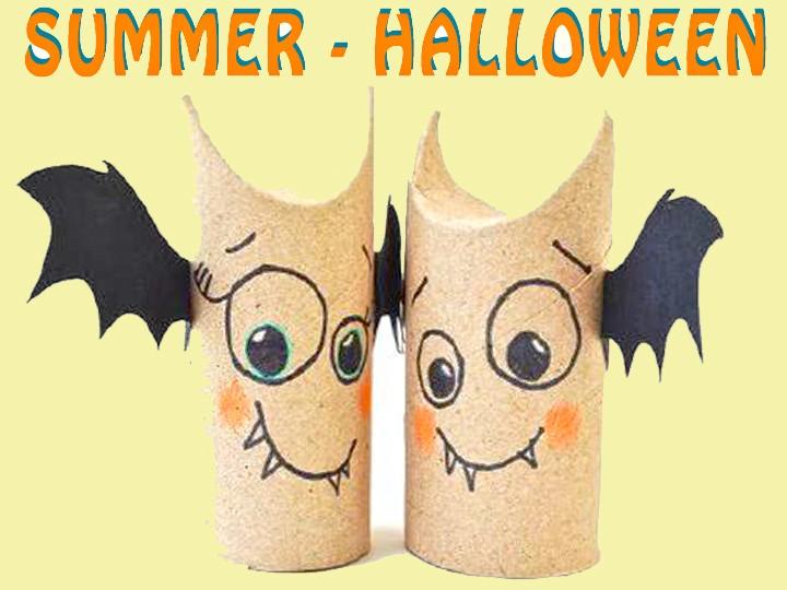 Día temático – Summer-Halloween