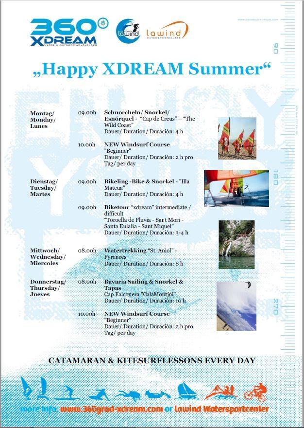 Programa de verano 2018