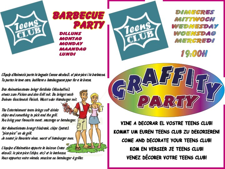 BBQ & Graffity Party